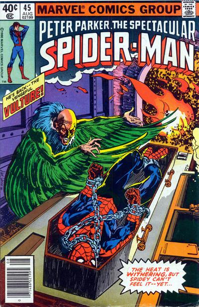 Cover for The Spectacular Spider-Man (Marvel, 1976 series) #45