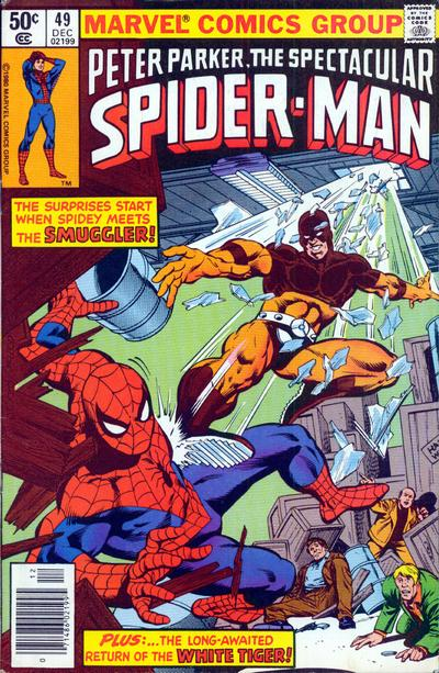 Cover for The Spectacular Spider-Man (Marvel, 1976 series) #49