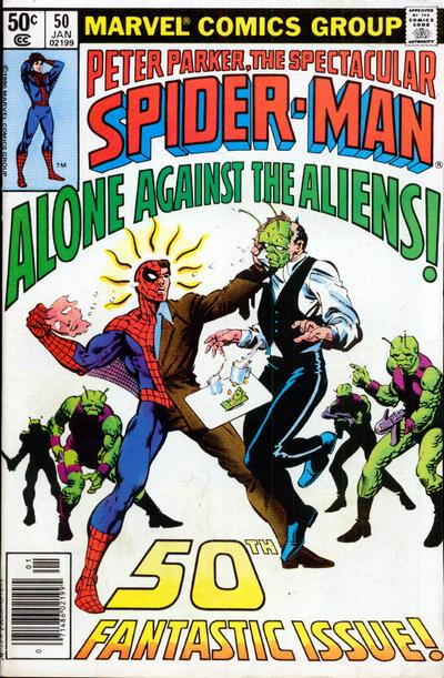 Cover for The Spectacular Spider-Man (Marvel, 1976 series) #50