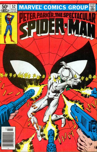 Cover for The Spectacular Spider-Man (Marvel, 1976 series) #52 [newsstand]
