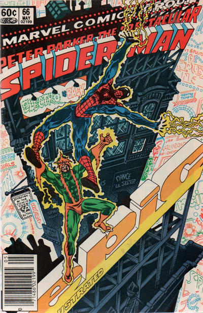 Cover for The Spectacular Spider-Man (Marvel, 1976 series) #66