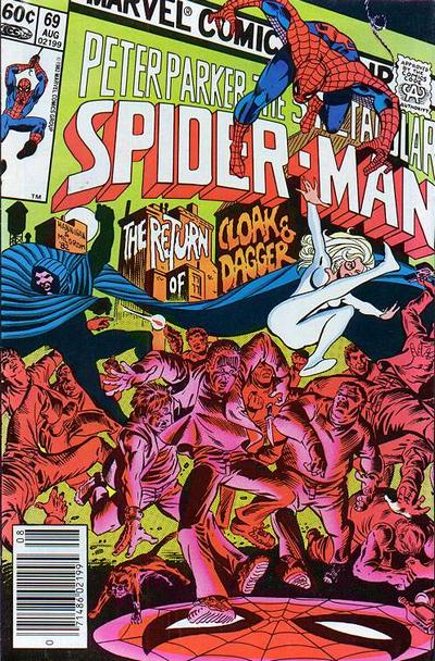 Cover for The Spectacular Spider-Man (Marvel, 1976 series) #69 [Direct]