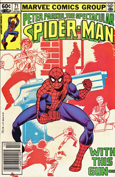 Cover for The Spectacular Spider-Man (Marvel, 1976 series) #71