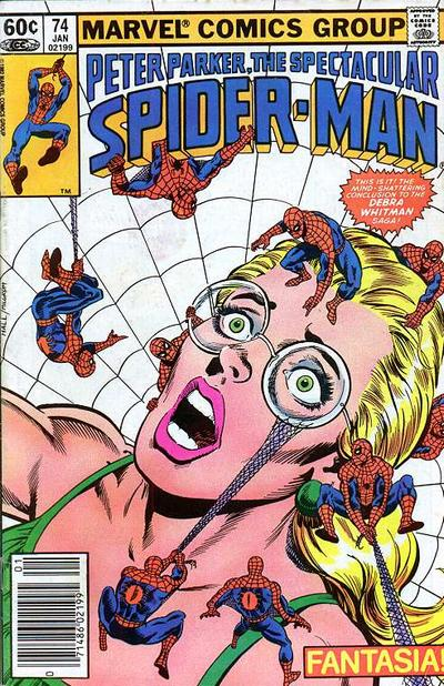 Cover for The Spectacular Spider-Man (Marvel, 1976 series) #74
