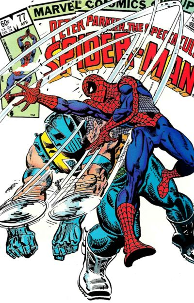 Cover for The Spectacular Spider-Man (Marvel, 1976 series) #77