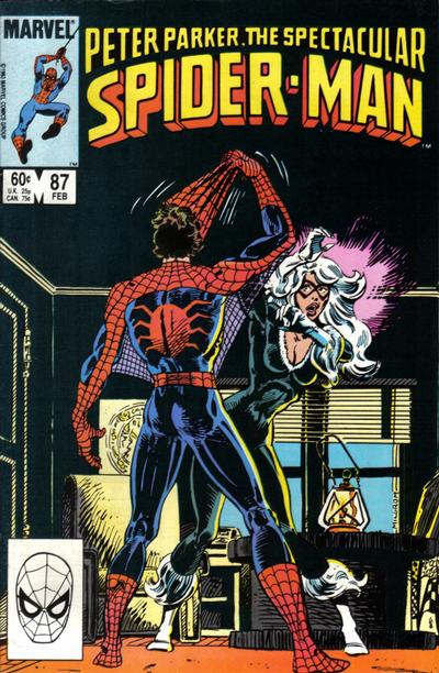 Cover for The Spectacular Spider-Man (Marvel, 1976 series) #87 [Direct Edition]