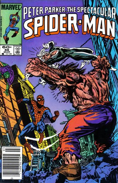 Cover for The Spectacular Spider-Man (Marvel, 1976 series) #88 [Newsstand Edition]