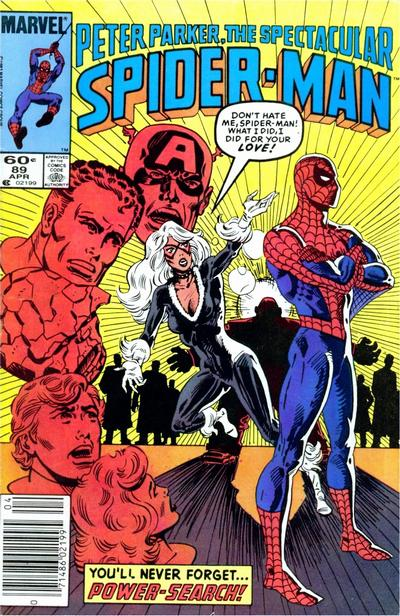 Cover for The Spectacular Spider-Man (Marvel, 1976 series) #89 [Newsstand Edition]