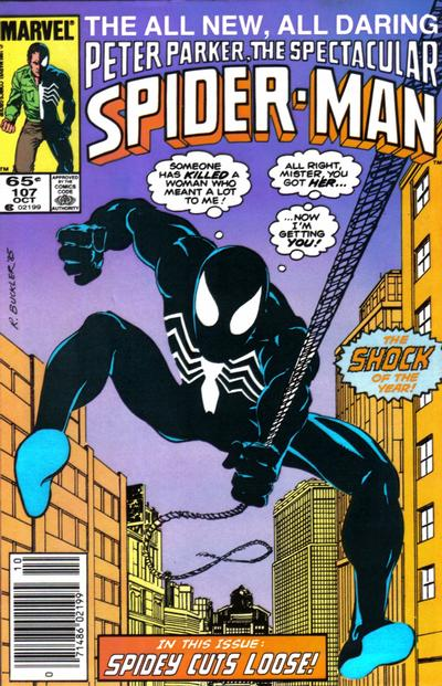 Cover for The Spectacular Spider-Man (Marvel, 1976 series) #107 [direct]