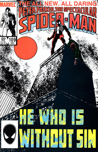 Cover for The Spectacular Spider-Man (Marvel, 1976 series) #109 [Newsstand Edition]