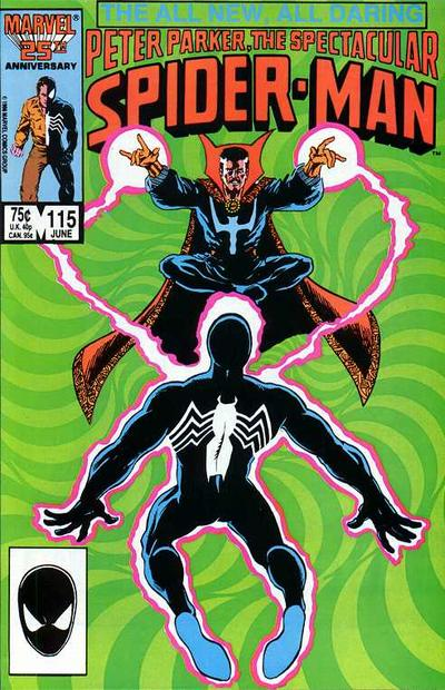 Cover for The Spectacular Spider-Man (Marvel, 1976 series) #115 [Newsstand Edition]