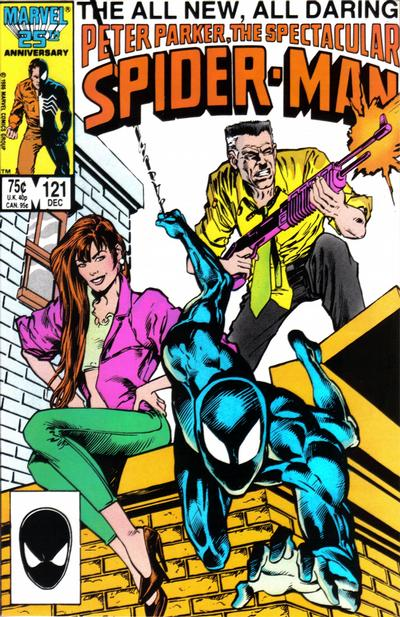 Cover for The Spectacular Spider-Man (Marvel, 1976 series) #121 [newsstand]