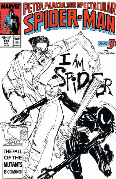 Cover for The Spectacular Spider-Man (Marvel, 1976 series) #133 [Direct]