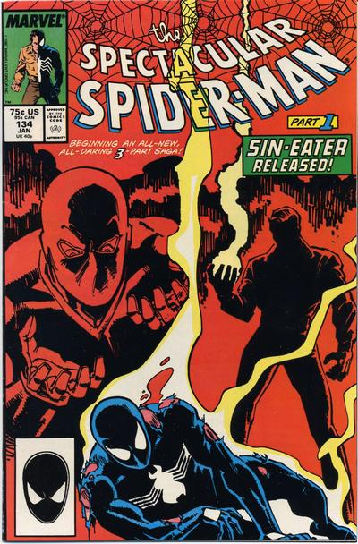 Cover for The Spectacular Spider-Man (Marvel, 1976 series) #134 [Direct]