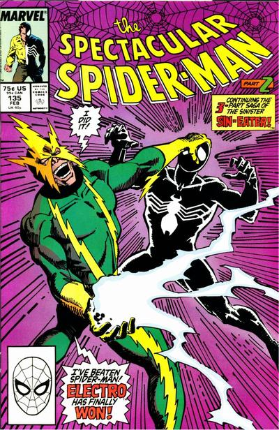 Cover for The Spectacular Spider-Man (Marvel, 1976 series) #135 [Direct]