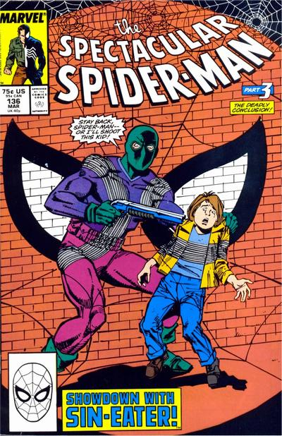 Cover for The Spectacular Spider-Man (Marvel, 1976 series) #136