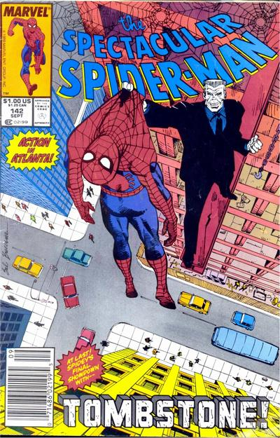 Cover for The Spectacular Spider-Man (Marvel, 1976 series) #142 [newsstand]