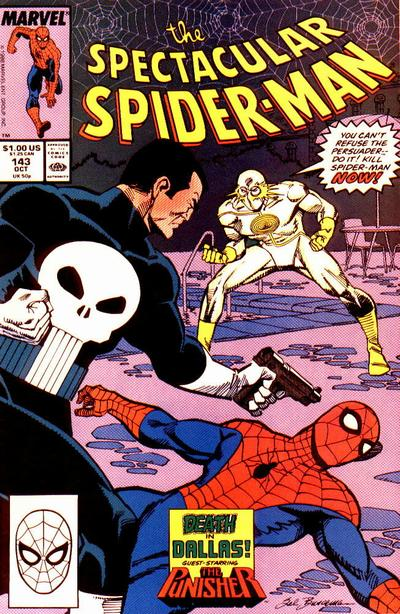 Cover for The Spectacular Spider-Man (Marvel, 1976 series) #143
