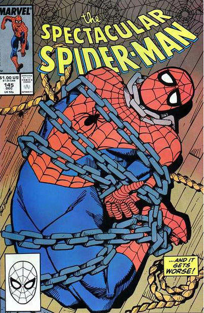 Cover for The Spectacular Spider-Man (Marvel, 1976 series) #145 [J.C. Penny Variant]