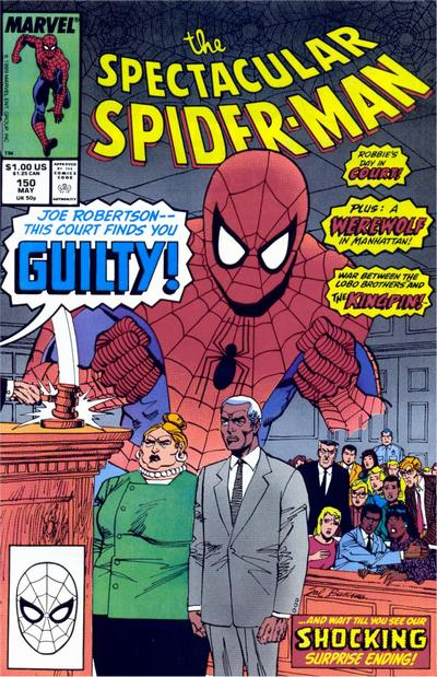 Cover for The Spectacular Spider-Man (Marvel, 1976 series) #150