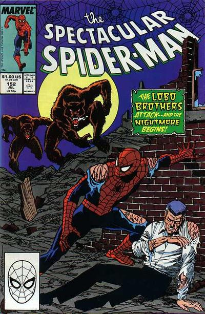 Cover for The Spectacular Spider-Man (Marvel, 1976 series) #152