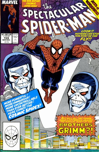 Cover for The Spectacular Spider-Man (Marvel, 1976 series) #159