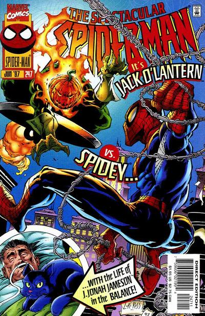 Cover for The Spectacular Spider-Man (Marvel, 1976 series) #247