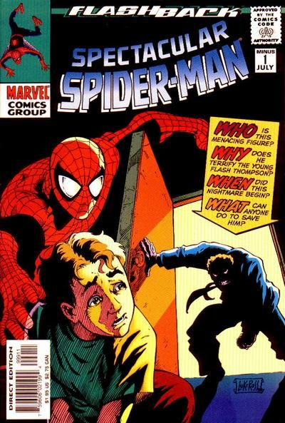 Cover for The Spectacular Spider-Man (Marvel, 1976 series) #-1