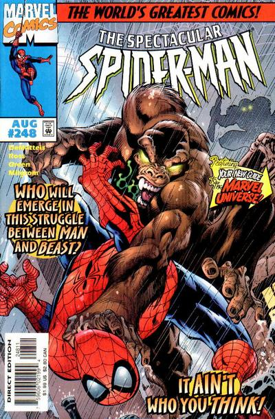 Cover for The Spectacular Spider-Man (Marvel, 1976 series) #248