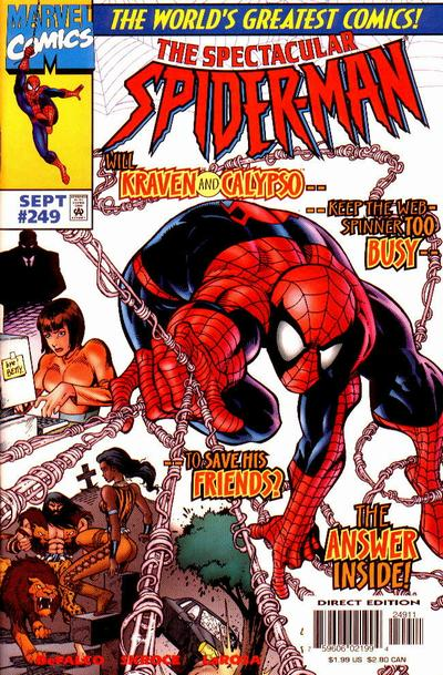 Cover for The Spectacular Spider-Man (Marvel, 1976 series) #249