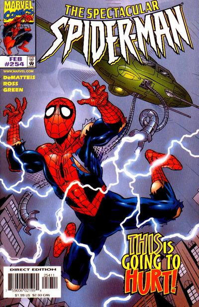 Cover for The Spectacular Spider-Man (Marvel, 1976 series) #254