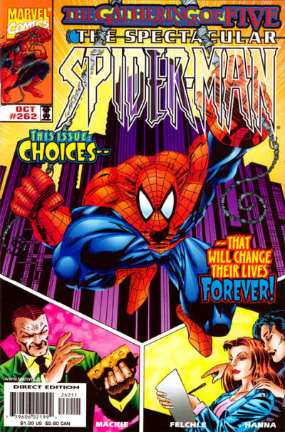 Cover for The Spectacular Spider-Man (Marvel, 1976 series) #262