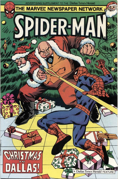Cover for Spider-Man: Christmas In Dallas (Marvel, 1983 series) #[nn]