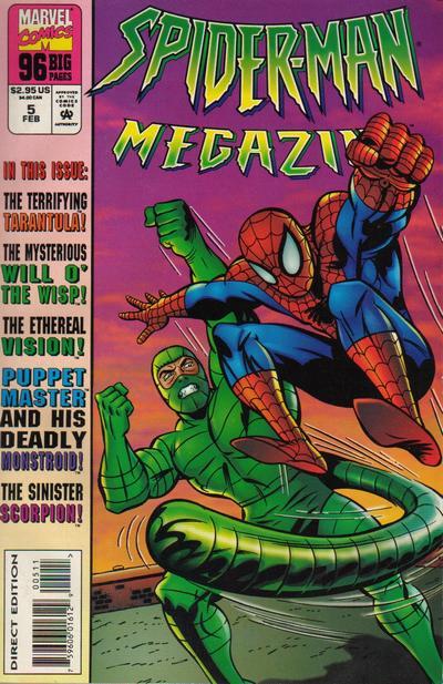 Cover for Spider-Man Megazine (Marvel, 1994 series) #5