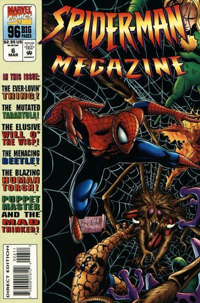 Cover for Spider-Man Megazine (Marvel, 1994 series) #6