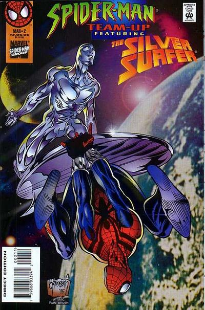 Cover for Spider-Man Team-Up (Marvel, 1995 series) #2