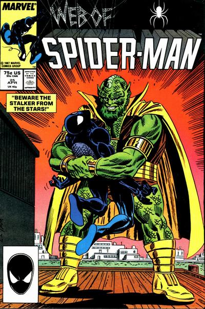 Cover for Web of Spider-Man (Marvel, 1985 series) #25 [Direct]