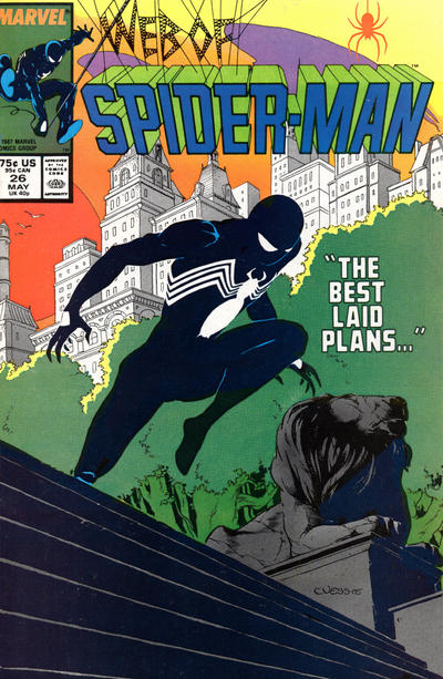 Cover for Web of Spider-Man (Marvel, 1985 series) #26 [Direct]