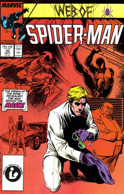 Cover for Web of Spider-Man (Marvel, 1985 series) #30 [Newsstand Edition]