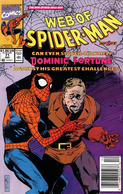 Cover for Web of Spider-Man (Marvel, 1985 series) #71 [Direct]