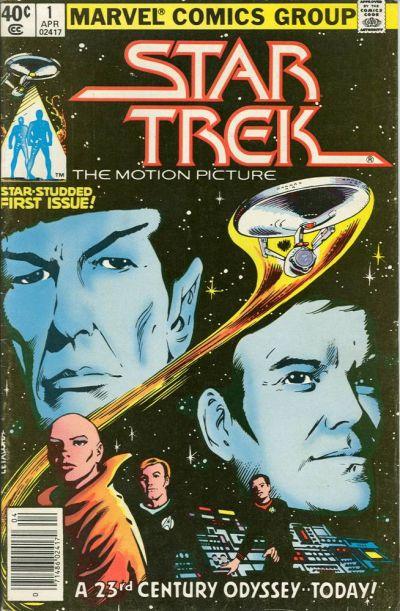 Cover for Star Trek (Marvel, 1980 series) #1 [Newsstand]