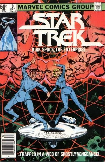Cover for Star Trek (Marvel, 1980 series) #9 [Direct]