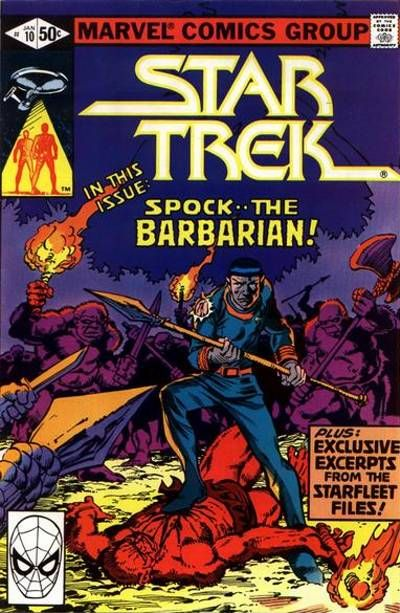 Cover for Star Trek (Marvel, 1980 series) #10 [Newsstand]