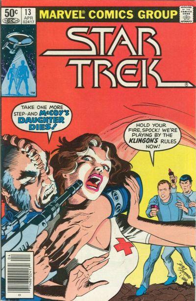 Cover for Star Trek (Marvel, 1980 series) #13 [Newsstand]