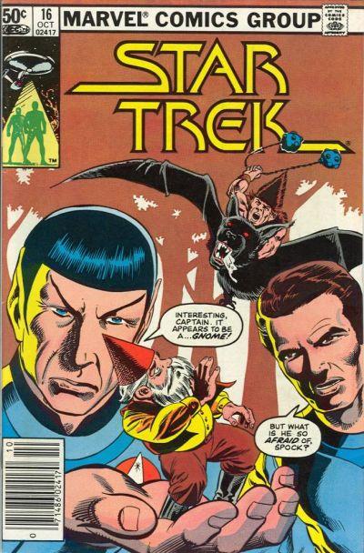Cover for Star Trek (Marvel, 1980 series) #16 [Direct]