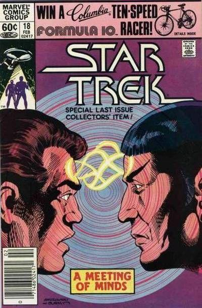 Cover for Star Trek (Marvel, 1980 series) #18 [Direct]