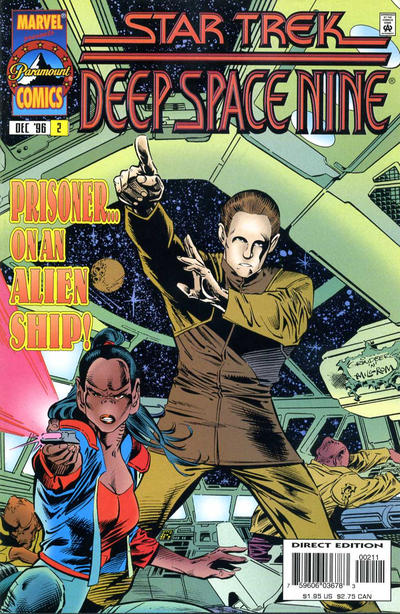 Cover for Star Trek: Deep Space Nine (Marvel, 1996 series) #2