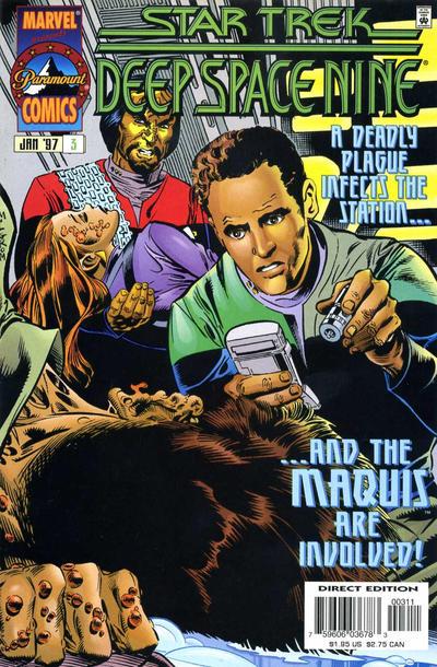 Cover for Star Trek: Deep Space Nine (Marvel, 1996 series) #3