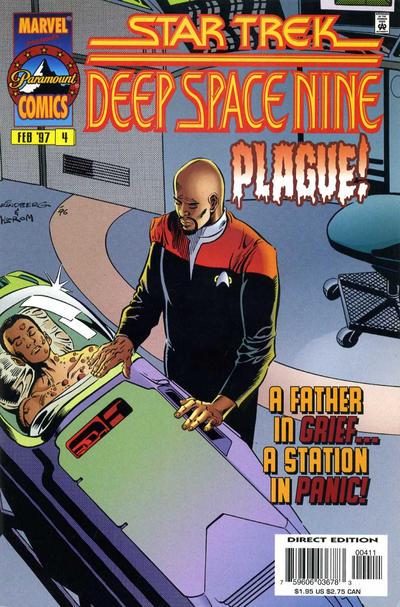 Cover for Star Trek: Deep Space Nine (Marvel, 1996 series) #4