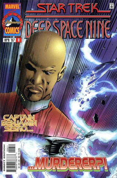 Cover for Star Trek: Deep Space Nine (Marvel, 1996 series) #6